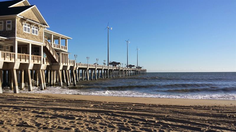 Jennette's Pier in Nags Head, North Carolina